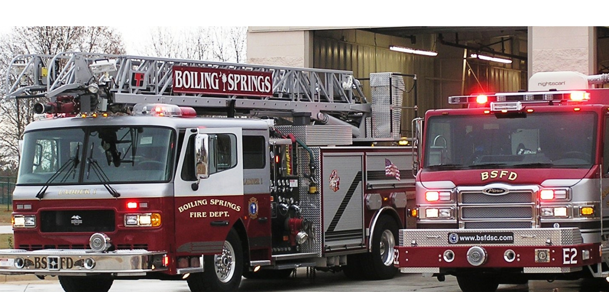 Boiling Springs Fire Department Spartanburg County in South